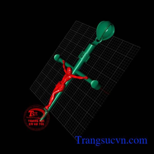 Mặt Thánh giá thiết kế trên máy 3D