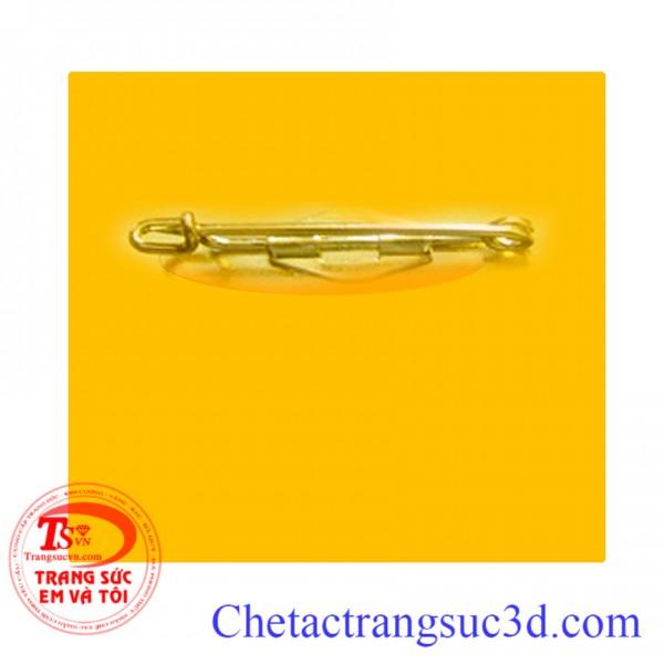 Logo cài áo bằng vàng 18k 14k 12k 10k Thiết kế Logo cài áo bằng vàng theo yêu cầu,Ghim cài áo logo bằng vàng quà tặng công ty, Chuyên cung cấp các công ty lớn Logo cài áo bằng vàng luôn mang đến sự sang trọng và nổi bật của công ty.